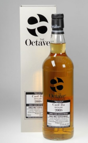 Caol Ila Octave cask Duncan Taylor 4 months Sherry Cask 9years