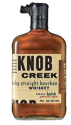 Knob Creek Small Batch Bourbon Patiently aged Whisky