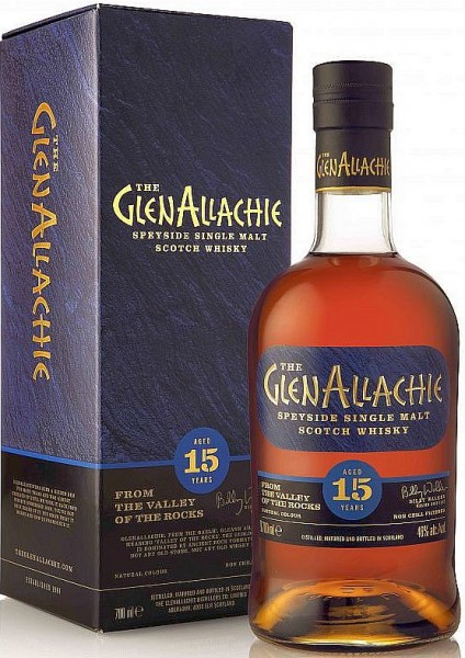 GlenAllachie 15 years Single Malt Sherry Cask finish