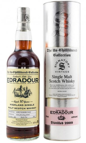 Edradour Vintage 2010/ 2020 Signatory unchill filtered