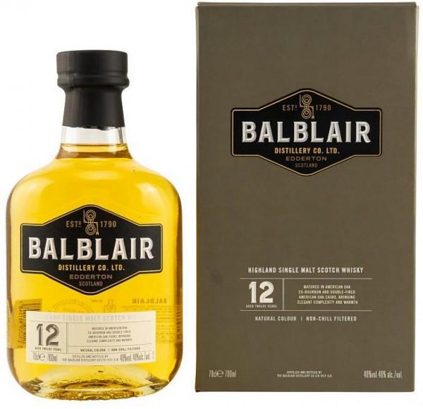 Balblair 12 years single Malt Whisky