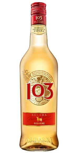 Osborne Bobadilla 103 Spanische Spirituose LITER