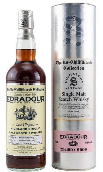 Edradour Vintage 2009 / 2019 Signatory unchill filtered