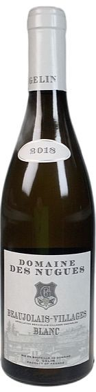 2018er Domaine Nugues Chardonnay Beaujolais Blanc