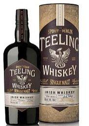Teeling SINGLE MALT Irish Whisky triple distilled