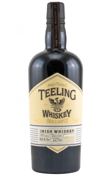 Teeling Small Batch Rum Cask Irish Whisky triple distille