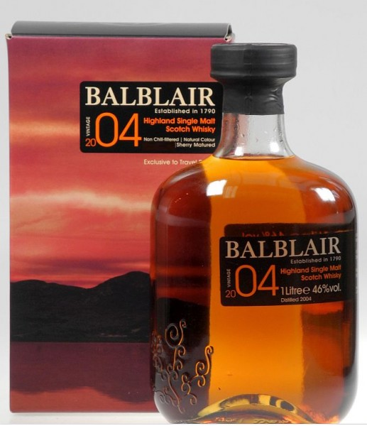 Balblair 2004 Liter SHERRY Cask single Malt Whisky