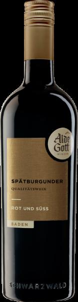 2018er Alde Gott Spätburgunder Rotwein ROT & SÜß Baden Sasbachwalden
