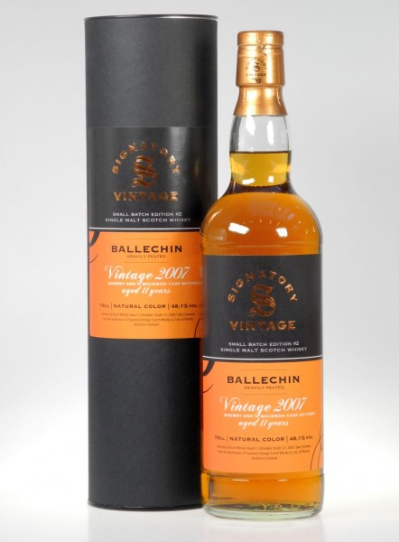 Edradour Ballechin 11 years Edition Oloroso & Bourbon Cask Single Malt