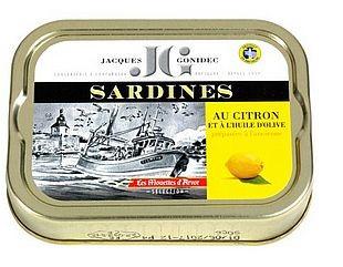 Jacques Gonidec, Sardinen in Olivenöl mit Zitrone