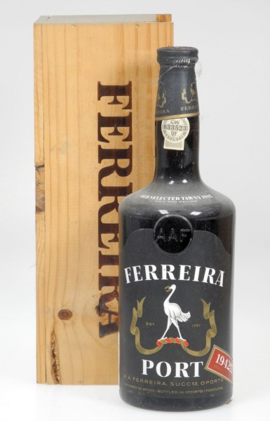 Ferreira Port Vintage 1942 Old selected Tawny