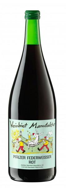 2020er Weinbiet Federroter aus der Pfalz