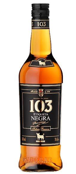 Bobadilla 103 Etiqueta negra Spanische Spirituose