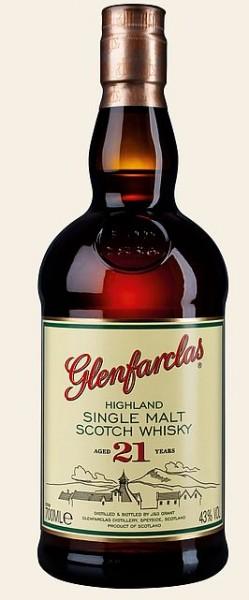 Glenfarclas 21 years Single Malt Whisky