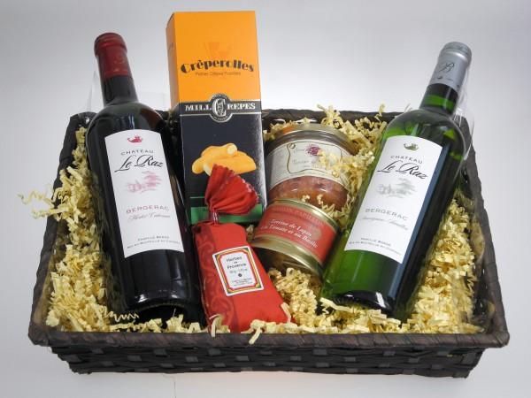 La France Präsentkorb Wein & Feinkost