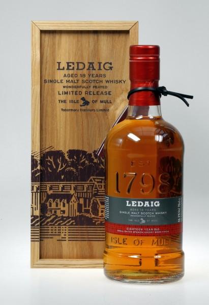 Ledaig 18 years Isle of Mull Whisky