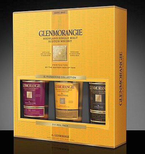 Glenmorangie 3er Tasting Set Single Malt a 0,35l Whisky