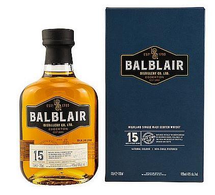Balblair 15 years single Malt Whisky