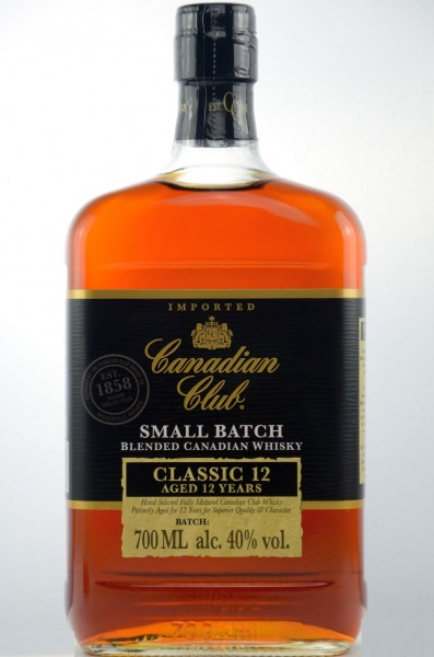 Canadian Club 12 years Whisky 40%vol