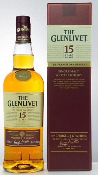 Glenlivet 15 years Single Malt Whisky French Oak