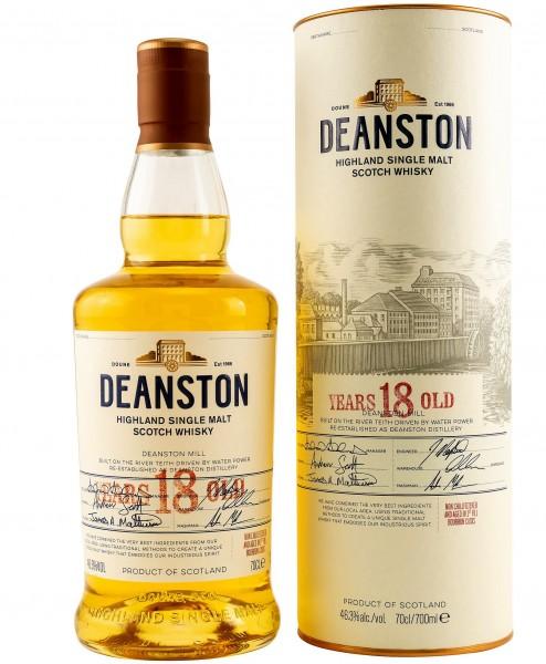 Deanston Single Malt 18 years old Whisky