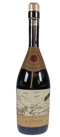 Le Crode Tradizionale di Pura Vinaccia Grappa 43%vol