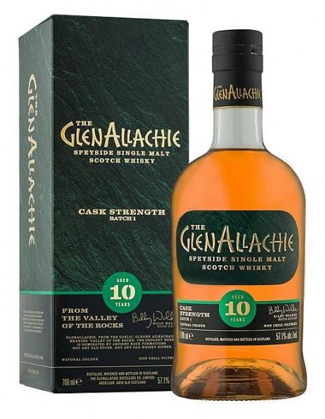 GlenAllachie 10 years Single Malt Cask strength Batch 2