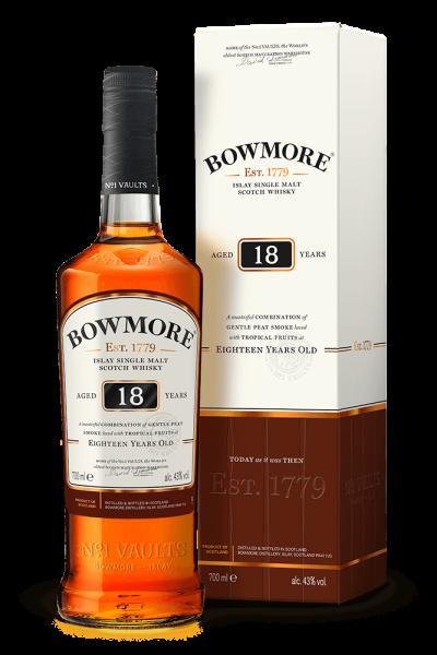 Bowmore 18 years Islay Single Malt Whisky