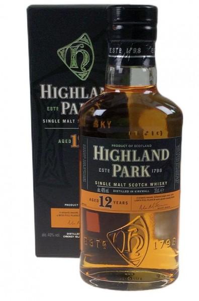 Highland Park 12 0,35 years Single Malt Whisky