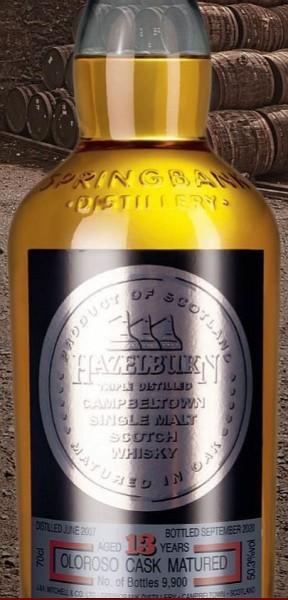 Hazelburn 13 years Campbeltown Whisky 2020