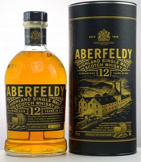 Aberfeldy 12 years single Malt Whisky