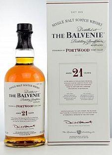 Balvenie 21 years Port Wood single Malt Whisky