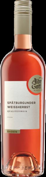 2019er Alde Gott Spätburgunder Weißherbst Sasbachwalden