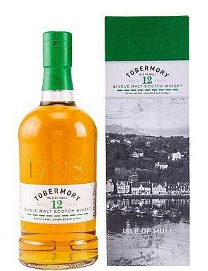 Tobermory 12 years Single Malt Isle of Mull Whisky