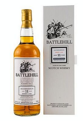 Auchindoun Battlehill 11 years Duncan Taylor Scotch Whisky